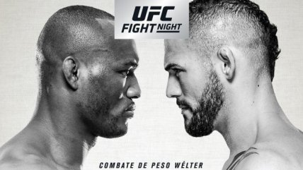 Lanzaron el poster oficial de UFC Fight Night Chile