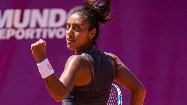 Triunfazo de la chilena Daniel Seguel en el WTA de Bogotá