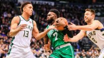 Milwaukee Bucks descontó en la serie ante Boston Celtics en los play-offs de la NBA