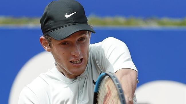 Guido Pella avanza en el ATP 500 de Barcelona