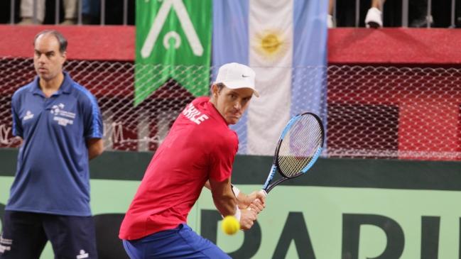 Nicolás Jarry cayó en semifinales del dobles en Barcelona