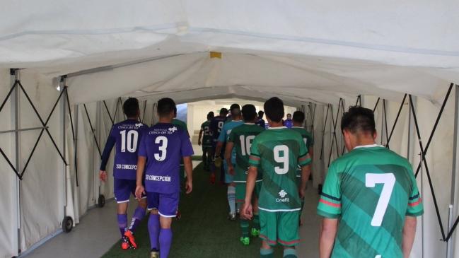 Partido entre Deportes Concepción y Chimbarongo FC fue suspendido