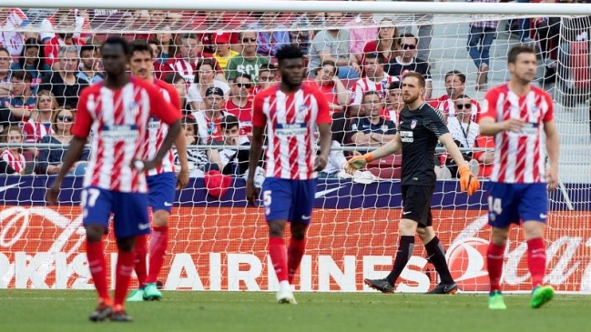 Atlético Madrid cayó como local ante Espanyol