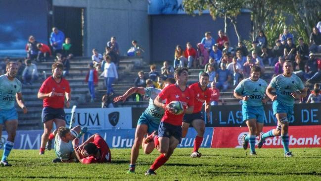 El rugby chileno consiguió un histórico triunfo en Uruguay