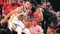 Houston Rockets barrió con Golden State Warriors e igualó la serie en la final del Oeste