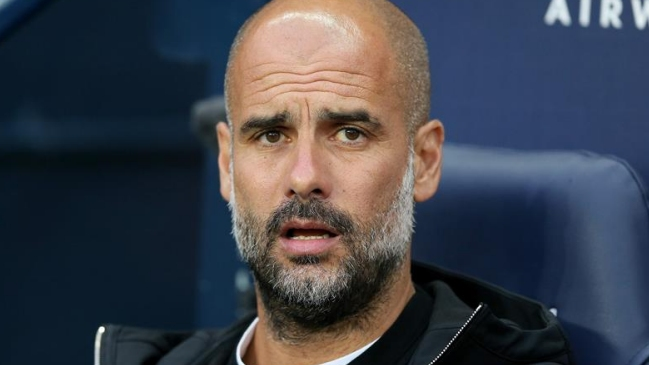 Pep Guardiola estará en el City hasta el 2021