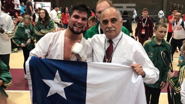 Resultado de imagen para Rodrigo Rojas. karate
