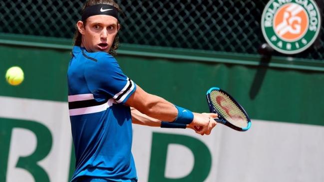 Nicolás Jarry perdió en la primera ronda de Roland Garros