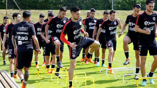 Nico Castillo, expulsado en duelo amistoso vs Rumania