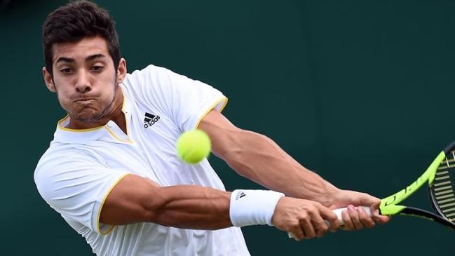 Christian Garín cayó eliminado en primera ronda de Wimbledon