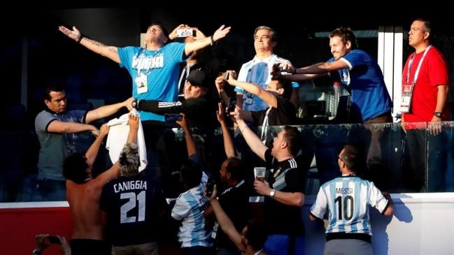 Fue triste ver así a Maradona en la tribuna — Lothar Matthäus