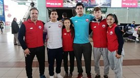 Team Chile de judo inició su gira europea