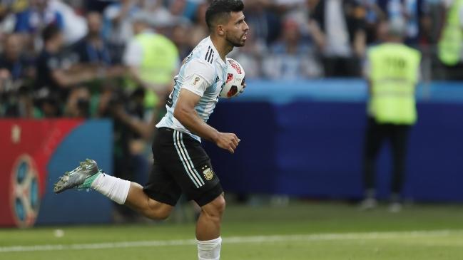 Sergio Agüero se despide de todos en Argentina, menos de Sampaoli