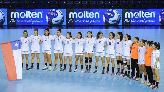 Selección Chilena de balonmano femenino vence a China en Mundial Junior