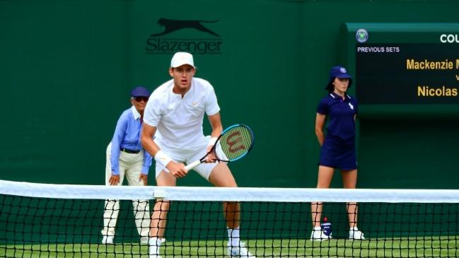 Chelo Arévalo gana un partido eterno en Wimbledon