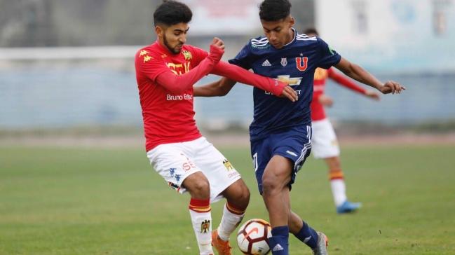 Unión Española venció a la U y se consagró campeón sub 17