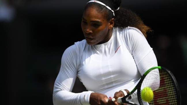Serena Williams regresa a la final de Wimbledon tras vencer a Julia Goerges