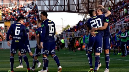 Revive la victoria de Universidad de Chile sobre Cobreloa por Copa Chile