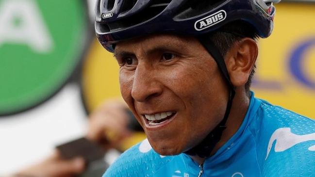 6183297e9 Foto  EFE Nairo Quintana sufrió una caída en la etapa 18 del Tour de Francia