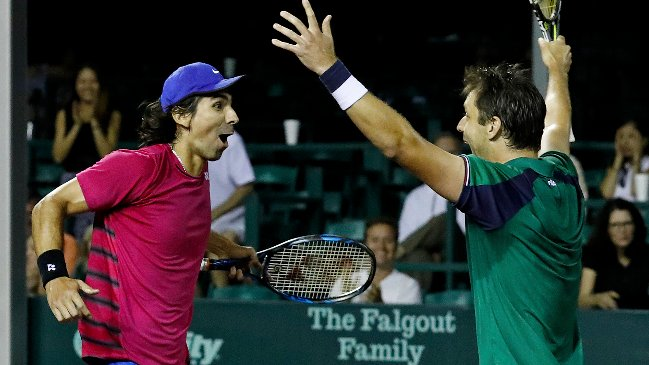Zeballos y Peralta, nuevo título de dobles en Hamburgo