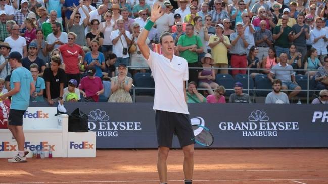 Nicolás Jarry no pudo con Istomin y cayó en semifinales de Kitzbühel