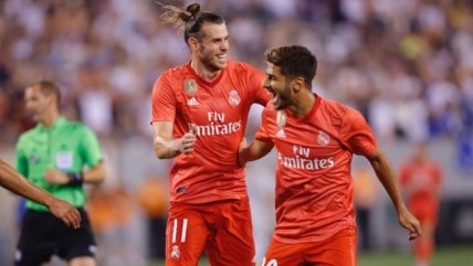 Bale anotó un golazo en triunfo de Real Madrid sobre Roma en la International Champions Cup