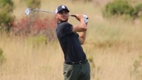 Stephen Curry se lució en el arranque del torneo de golf de Hayward
