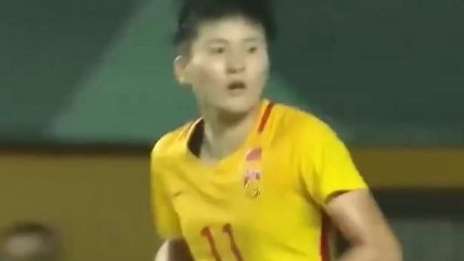 Futbolista china anotó nueve goles en 29 minutos