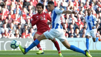 Un intratable Mohamed Salah le dio el triunfo a Liverpool sobre Brighton en la Premier League