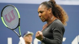 Serena Williams tuvo arrollador debut en el US Open