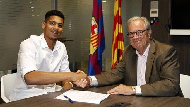 El Barça ficha a Ronald Araujo