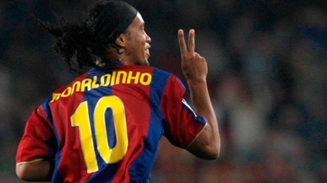 Ronaldinho pidió que Barcelona saque el número 10 tras el retiro ...