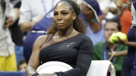 Serena Williams fue multada con 17 mil dólares por violar el código de conducta en la final del US Open
