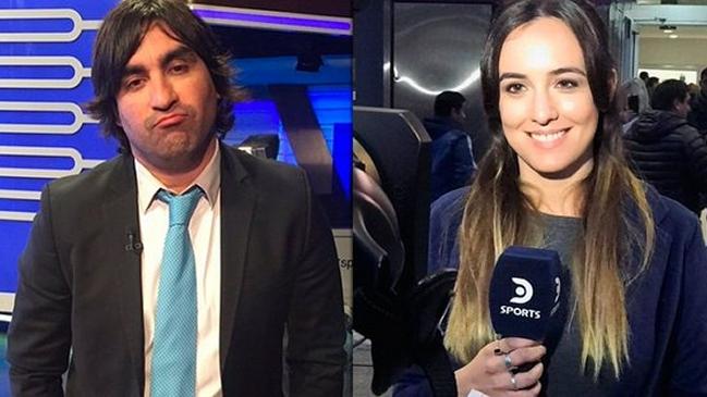 Periodista deportiva le puso los puntos al Turco Husaín