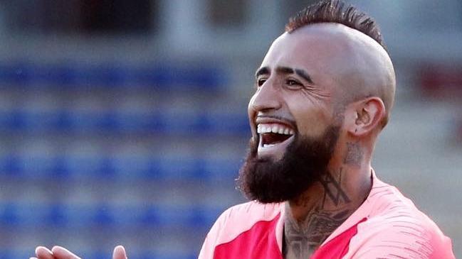 'King' puntero: Vidal jugó en triunfo de Barcelona ante Real Sociedad