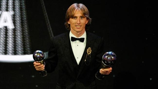 Luka Modric se lleva el premio The Best