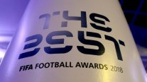 FIFA entrega los premios The Best 2018 en Londres