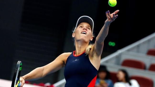 Wozniacki se impone a Sevastova y repite en Pekín