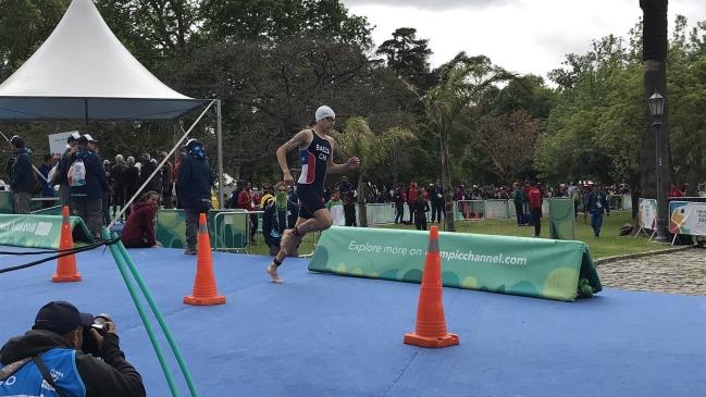 Triatleta Cristobal Baeza Sufrio Accidente En Los Juegos Olimpicos