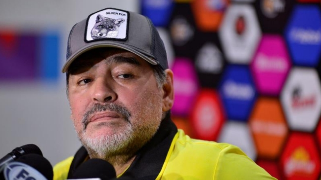 Maradona sobre Messi: