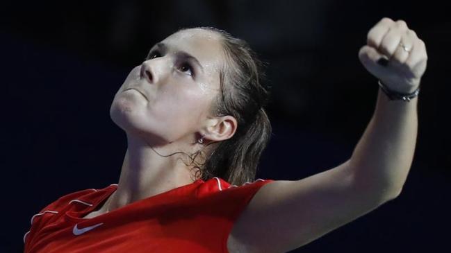 La rusa Kasatkina, campeona del WTA de Moscú