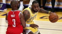 Pelea en duelo entre Los Angeles Lakers y Houston Rockets terminó con tres expulsados