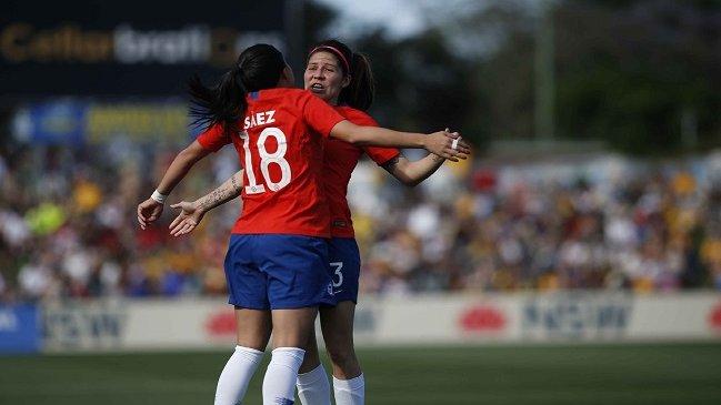 La Roja femenina obtuvo un enorme triunfo en su visita a Australia en amistoso internacional