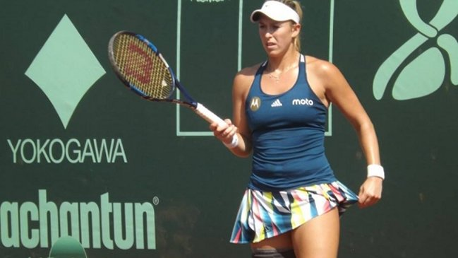 Alexa Guarachi tuvo debut y despedida los dobles del Challenger de Houston