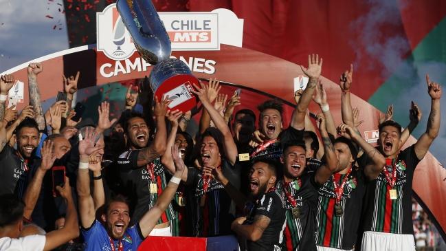 Palestino consiguió un título tras 40 años al vencer a Audax Italiano en la final de Copa Chile
