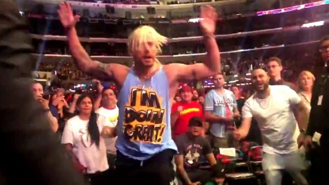 Luchador Enzo Amore intentó interrumpir Survivor Series