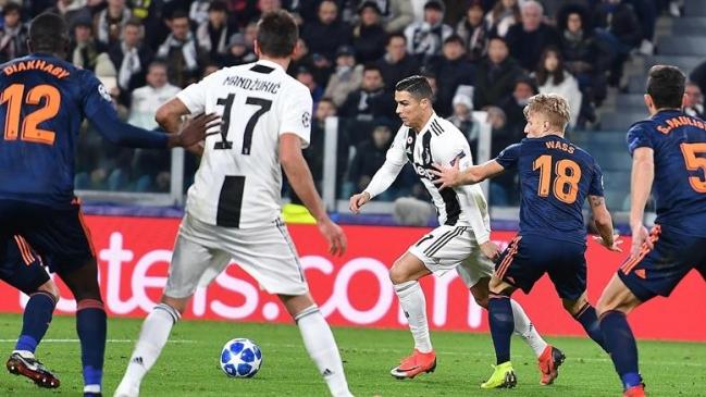 Cristiano Ronaldo impone un nuevo récord en la Champions League