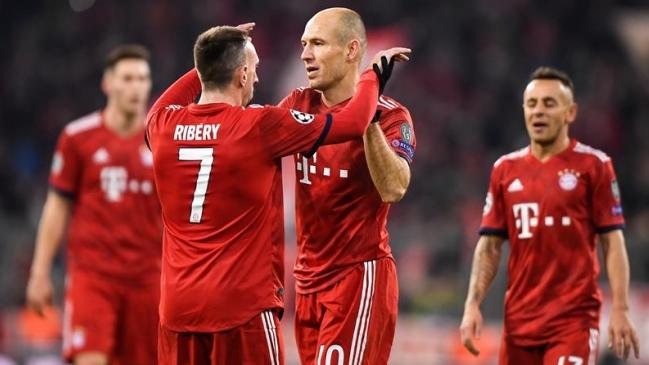 Arjen Robben confirmó que no continuará en el Bayern la próxima temporada