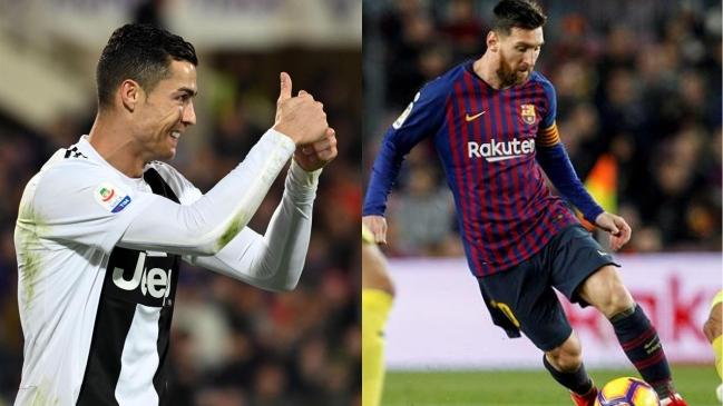 Messi y Cristiano, al Bernabéu a ver el River-Boca