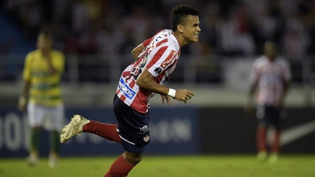 Junior y Paranaense igualan en la primera final de la Copa Sudamericana